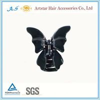 Black color small hair claws wholesale
