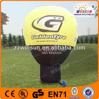OEM commercial attractive inflatable advertising balloons small