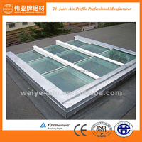 aluminium roof window extrusions in 6063-T5