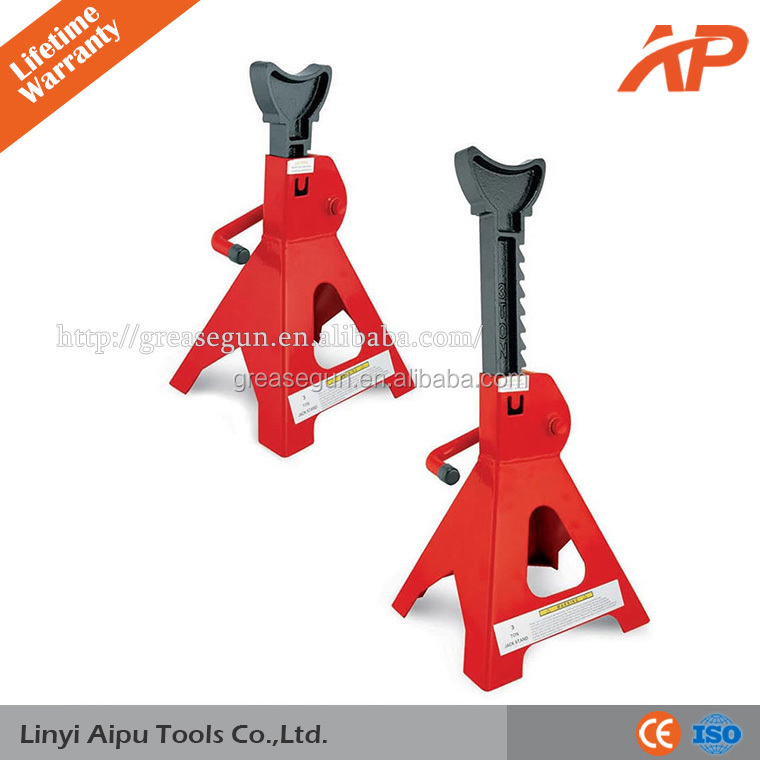Car Jack Stands Double Self Locking Ratchet 3 Ton Torin Large Auto Truck Vehicle