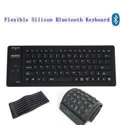 Flexible Silicone Bluetooth Multi Language Keyboard