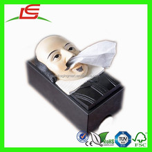 N518 Amazing Moai Tissue Box Paper Box For Easter Day