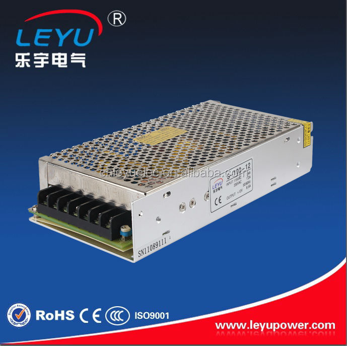 China mainland hot selling S-100-12 power supply 12V 8.5A ac to dc single output switching power supply