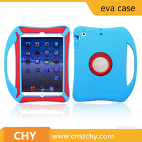Hot selling cute soft silicone back cover for ipad 5 6