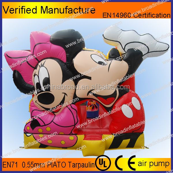 Nice and durable mickey mouse inflatable castle,inflatable air castle,inflatable castle mickey mouse