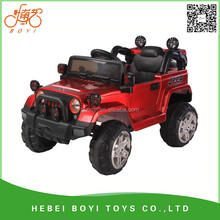 cheaper JEEP wholesale ride on car battery operated remote control children toys car kids electric car to drive