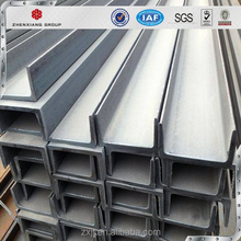 Alibaba.com premium quality u channel, steel channel sizes with Q235, SS400, A36 mild channel steel price per kg