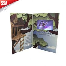 2012 A4 customized printing wall mount brochure holder