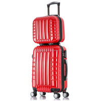 Super quality super light hardside rolling luggage travelling bags