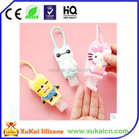 Hot sale 3d silicone hand sanitizer gel holder