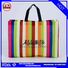 Recycled and fashion pp non woven bag/shopping packaging bags/take out fabric bags
