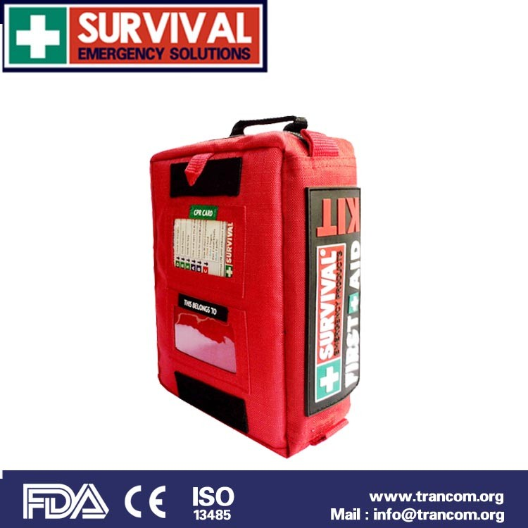 ses02 outdoor survival first aid kit fda approved 2015 first aid kit travel with good quality (CE&ISO&FDA&TGA)Approved