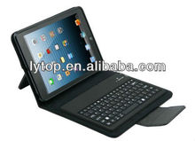 For ipad mini pu leather keyboard case