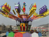 Challenged carnival jumping machine with 30 seats/Update rich colors of carnival jumping machine