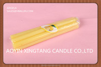 cheap color candles chinese incense candle