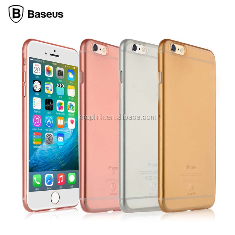 Cover Case for iPhone 6 case For iPhone 6s case Plus Ultra Thin Soft TPU Gel Transparent Crystal Clear Silicon coque Baseus