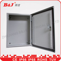 electric supplies metal box/steel wall mounting enclosure box ip66/electrical panel box sizes manufacrurer