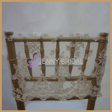 C180B lace wedding half back chair covers