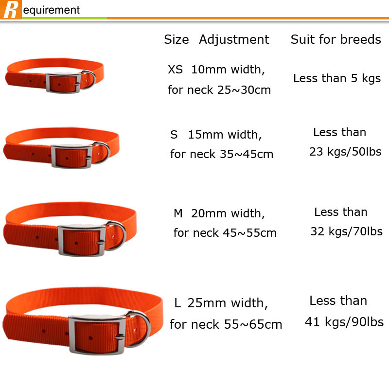 Factory direct sale high quality beautiful sublimation polyester dog adjustable collar,heat transfer dog collar