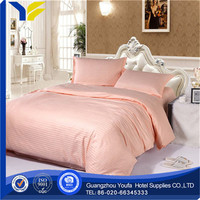 printed made in China 100% cotton home brand name bedding sheets sets