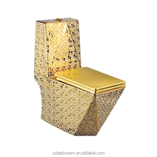 good looking colored gold toilet one-piece toilet for sale