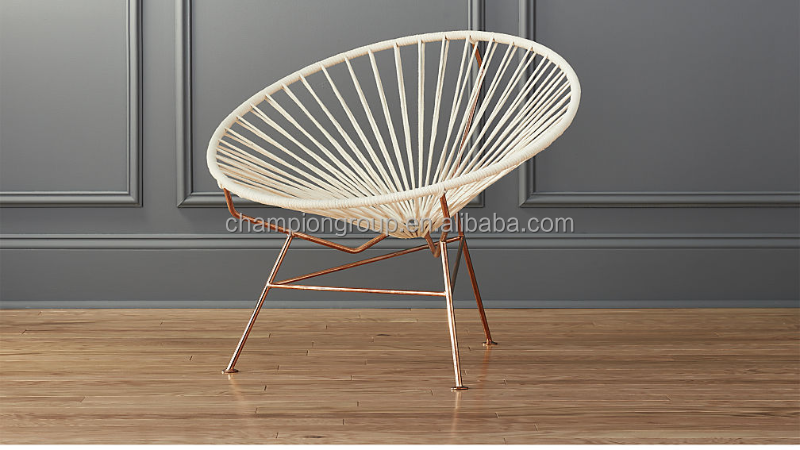gold base Replica Acapulco chair for outdoor