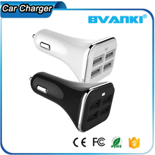 All Types Mobile Phones Prices Mobile Electric Car Charging Micro USB Phone Charger Cheap 2.1 Amp 4 Port USB Car Charger