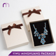 Wholesale Luxury White Necklace Jewelry Packaging Gift Box With Bowknot