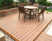 Co-extrusion high strength wpc composite decking