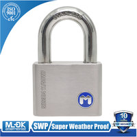 MOK@11/50WF, key alike,Super stainless steel rust proof padlock