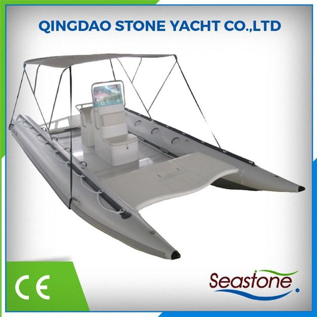 Inflatable Speed Sailing Catamaran For Sale