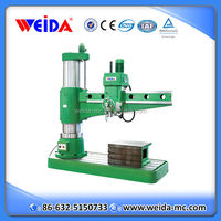 chinese Standard hydraulic metal radial drilling machine diameter 80mm for Z3080X25/1