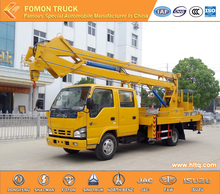 Japan technology 4*2 12m 14m truck-mounted scissor lift good quality hot sale