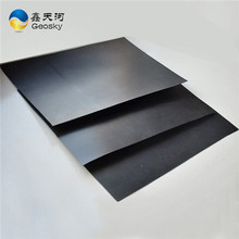black color hdpe smooth geomembrane for above ground hdpe sheet(1.5mm)