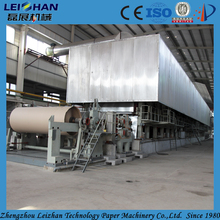 Testliner & grey paper board making machine from recycled paper