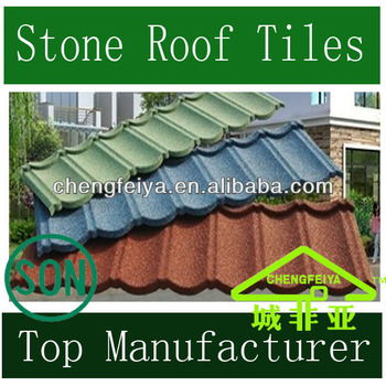 Stone Coated Roofing Step Tiles