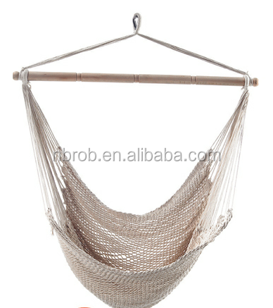 Outdoor Swing Chair Hanging Net Cotton Rope Net Hammock