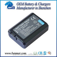 Rechargeable camera battery NP-FW50 FW50 for Sony NEX-7 NEX-6 NEX-5