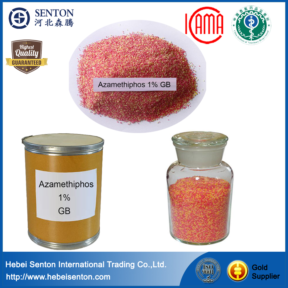 Azamethiphos 1% Granule organophosphorous insecticide both stomach poison and tag effect
