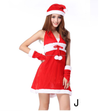 Adult women sets/5 pcs christmas clothing /santa clothes