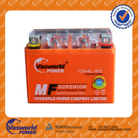 high quality mf storage 12v 4ah motorcycle lead acid battery for motorcycle battery factory