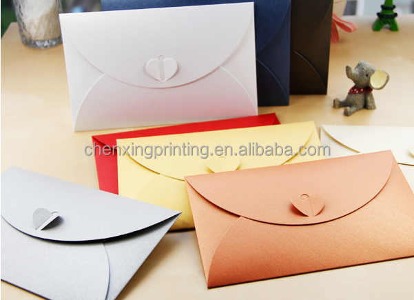 beautiful kraft Invitation Envelope Design Chinese Envelope Wedding Fancy Envelope