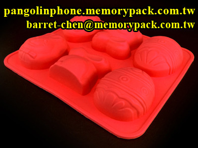 christmas egg soap bar silicone molds tray soap molds CCM-003