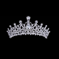 wholesale high quality princess rhinestone tiara crown