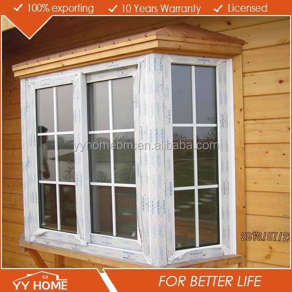 YY Home grill design wood windows aluminium windows Aluminium Baw Windows