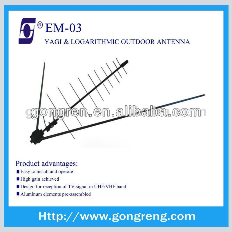 yagi uhf vhf tv antenna outdoor EM-03