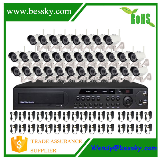 Bessky cctv system, ip cameras, cp plus 32 channel cctv kit wireless cctv system