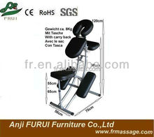 folding aluminum massage chair portable