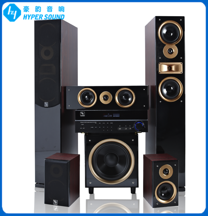 home cinema 5.1 sound system with active subwoofer(SP-6689A)