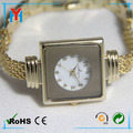 Wholesale gold wrist watches waterproof with japan movt